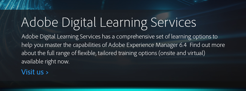 Adobe Digital Learning Services
